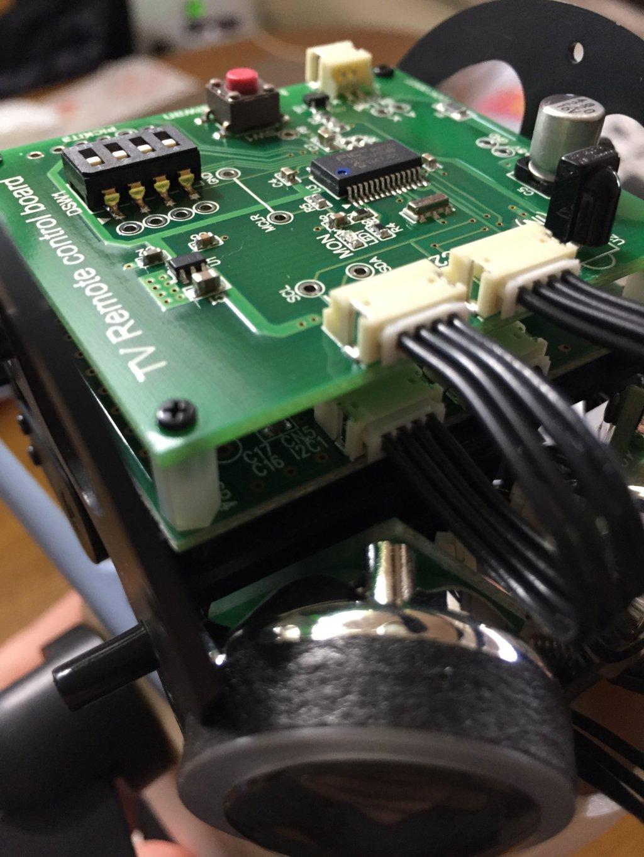 Infrared programming board