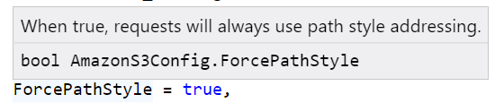 localstack s3 - force path style